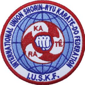 Bordado Federação Internacional Shorin-ryu Karate-do