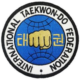 Bordado Federação Internacional de Taekwon-do