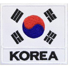 Bandeira Bordada KOREA