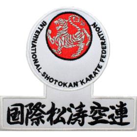 Bordado ISKF Logo e Kanji