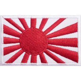 Bandeira Bordada Sol Nascente (Kyokujitsu)