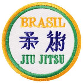 Bordado Brasil Jiu Jitsu
