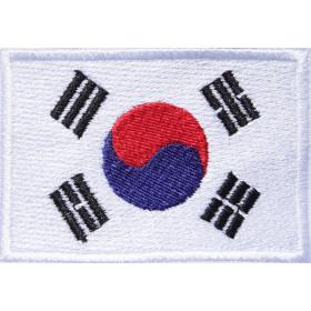 Bandeira Bordada Coreia do Sul