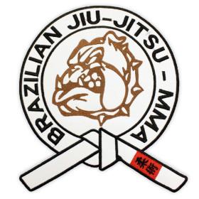 Bordado Bulldog Brazilian JiuJitsu MMA