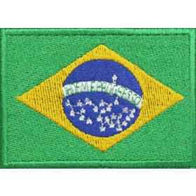 Bandeira Bordada Brasil
