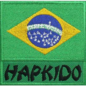 Bandeira Bordada Brasil Hapkido
