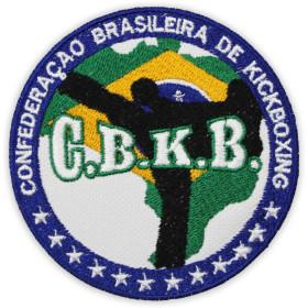Bordado Confederação Brasileira de Kickboxing