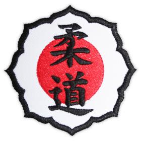 Bordado Flor Judo